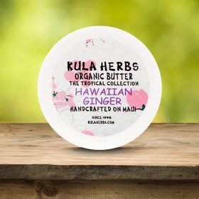Hawaiian Ginger Organic Butter