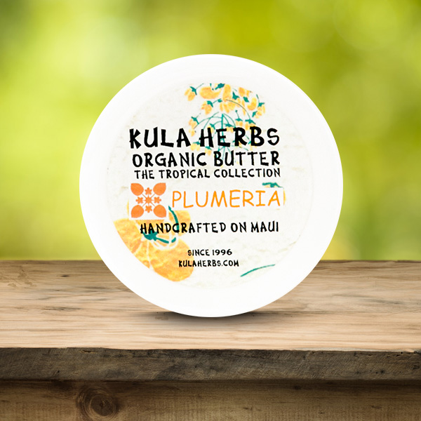 Plumeria Organic Butter