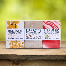 Aloha 3pk Bath Bar Soap