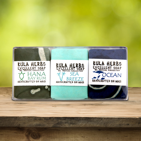 Ocean 3pk Guest Bar Soap