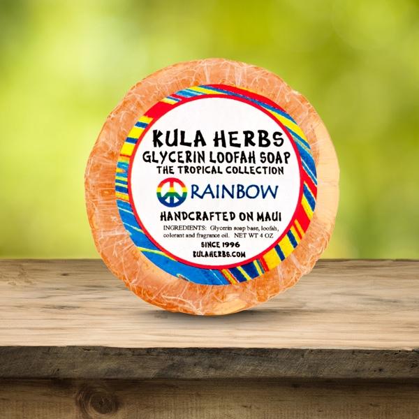 Rainbow Glycerin Soap