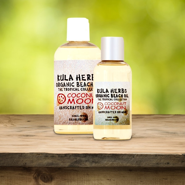 Coconut Moon Organic Beach Oil