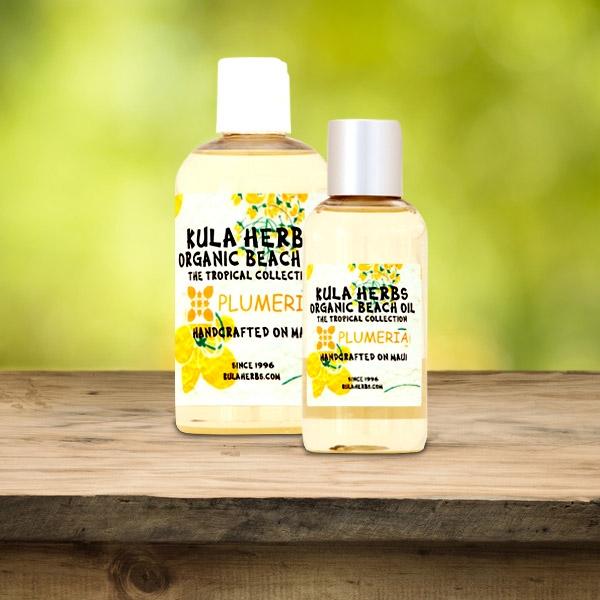 Plumeria Organic Beach Oil